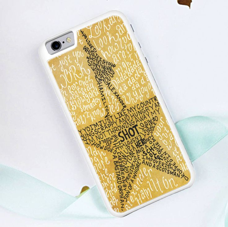 Hamilton Musical Lyrics - iPhone 6/6S Case, iPhone 6/6S Plus Case, iPhone 5/5S SE Case plus Samsung Galaxy S5 S6 S7 Edge Cases - Shadeyou Phone Cases