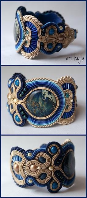 AFFARI soutache bracelet