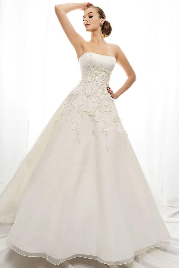14 best strapless wedding gowns images on pinterest for Atlanta wedding dress shops