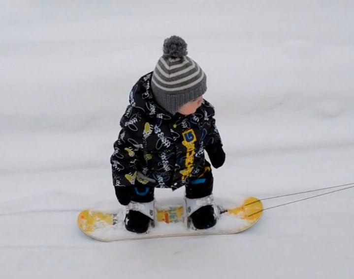 Маленький сноубордист| Всё прогорные лыжи— SKISTOP.RU