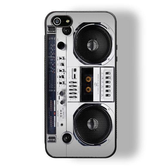 Boombox iPhone 5/5S Bumper Case