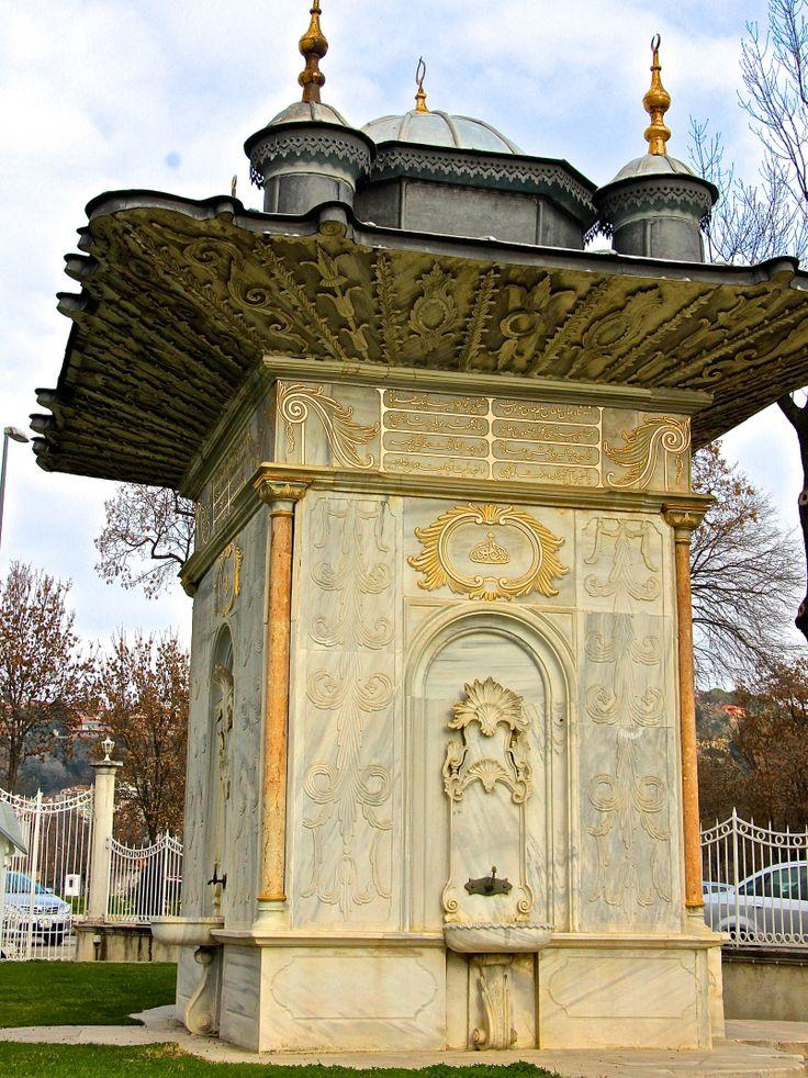 Mihrişah Valide Sultan Çeşmesi (Mihrişah Valide Sultan Fountain) Küçüksu ISTANBUL