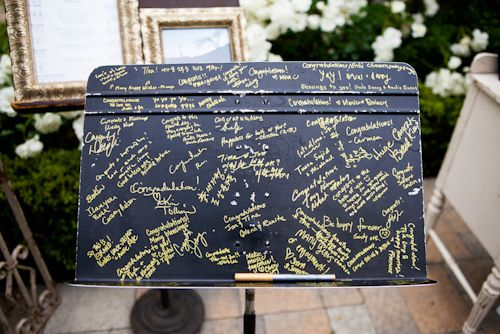 15 Guest Book Alternatives - Music Podium Sign In