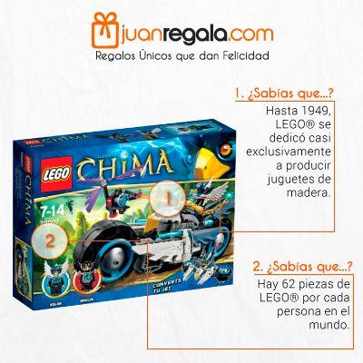 Sabias Que... Hasta 1949 LEGO Solo hacia Juguetes en Madera... Este es Un Perfecto Regalo para Personas que Sean Muy Creativas -- JuanRegala.com
