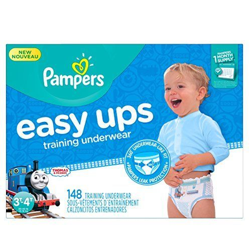 awesome Pampers Easy Ups Training Underwear Boys Size 3T-4T (Size 5), 148 Count (One Month Supply) Check more at http://aeoffers.com/amazon-shopping/baby-toys-and-games-clothing-shoes-amazon/pampers-easy-ups-training-underwear-boys-size-3t-4t-size-5-148-count-one-month-supply/