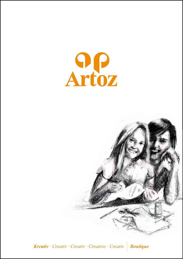 Hier geht's zum Onlinekatalog von Artoz Papier Kreativ 2015