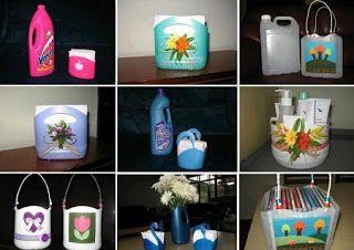 Ideas Para Reciclar Frascos De Plástico Leuke Aparte Dingen Pinterest