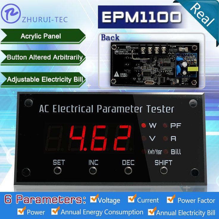 $22.40 (Buy here: https://alitems.com/g/1e8d114494ebda23ff8b16525dc3e8/?i=5&ulp=https%3A%2F%2Fwww.aliexpress.com%2Fitem%2FEPM1100-wattmeter-digital-panel-ammeter-power-meters-electrical-tester-110V-10A-Pit-mounted%2F1532541083.html ) EPM1100 wattmeter/digital panel ammeter/power meters/electrical tester 110V/10A/Pit mounted for just $22.40