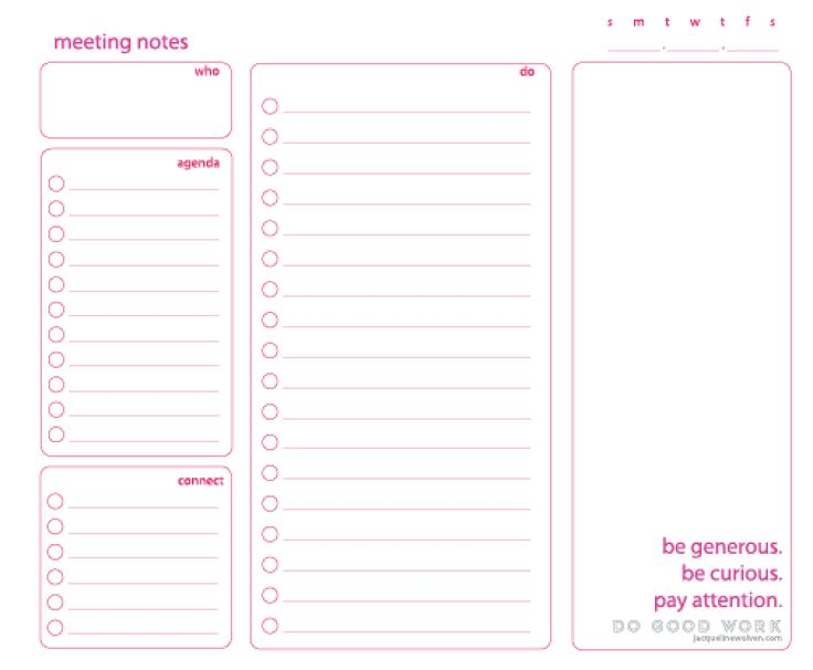 642 best Documents and Printables images on Pinterest Day - meeting planner templates