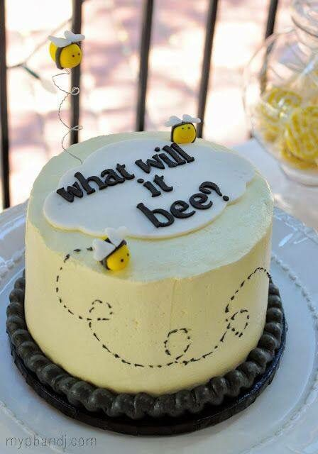 Unisex birthday cake