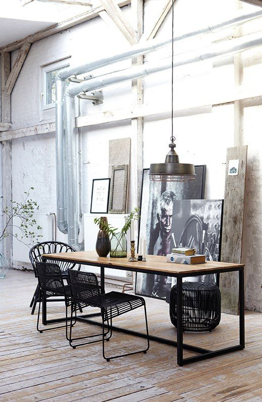 Industrial style 2013 House Doctor // repinned by www.womly.nl #womly #interieur