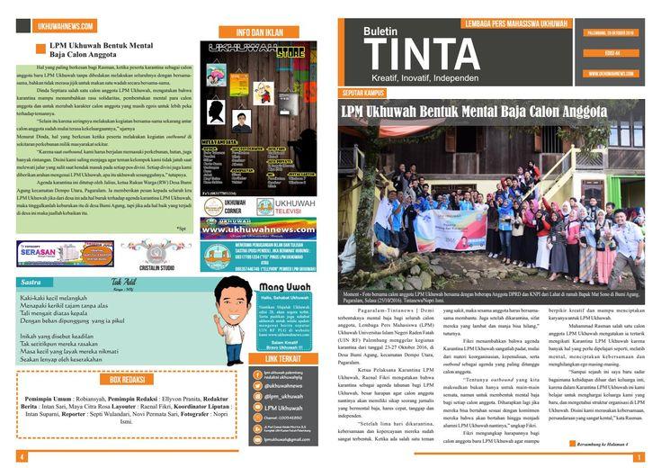 Buletin tinta edisi 44, 28 oktober 2016