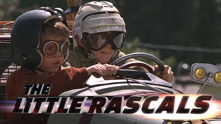 A Mashup Movie Trailer Mixing Footage From The Little Rascals With Audio From Furious 7