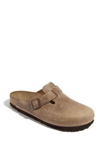Birkenstock+'Boston'+Classic+Oiled+Leather+Clog+(Women)+available+at+#Nordstrom