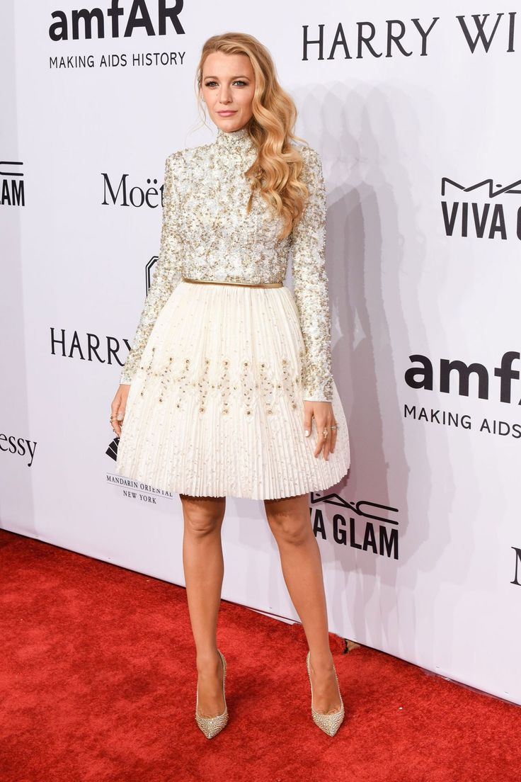 amfAR Gala 2016: Blake Lively in a Chanel couture dress
