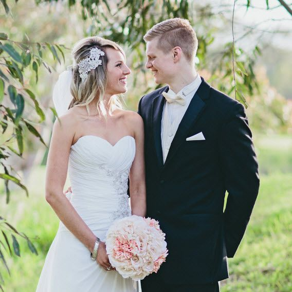 Real Wedding - Jasmine thank you for sharing your special day with us - you look stunning!