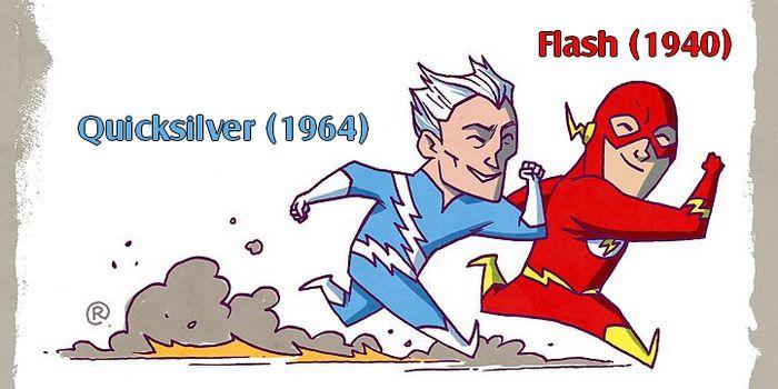 """DC ve Marvel Evrenindeki Benzer Yetenekli Kahramanları Ele Alan 22 İllüstrasyon """"DC ve Marvel Evrenindeki Benzer Yetenekli Kahramanları Ele Alan 22 İllüstrasyon""""  https://yoogbe.com/ilginc/dc-ve-marvel-evrenindeki-benzer-yetenekli-kahramanlari-ele-alan-22-illustrasyon/"""