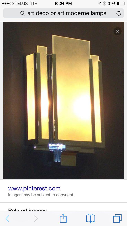 34 best Streamline Moderne - Lighting images on Pinterest ...