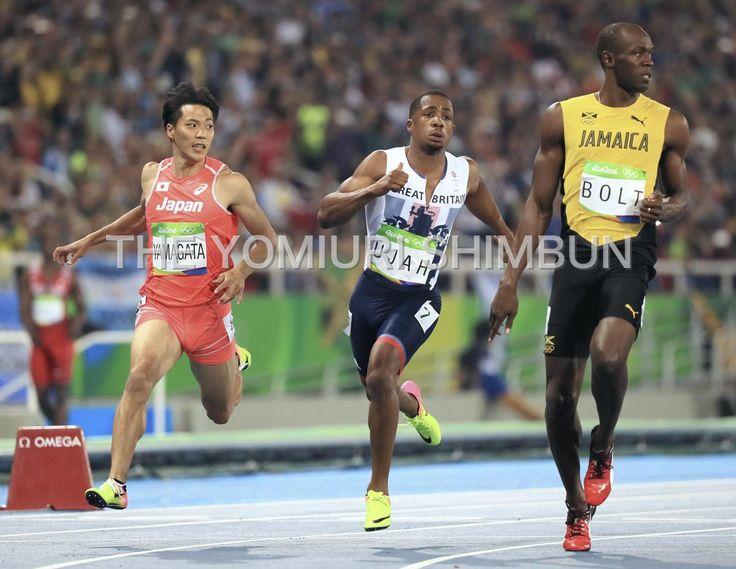 #リオ五輪 #陸上 #男子100メートル #山県亮太 #ケンブリッジ飛鳥 決勝進出ならず
