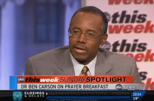 Dr. Ben Carson For President? 'I'll Leave That Up To God' He Tells This Week....a very wise man