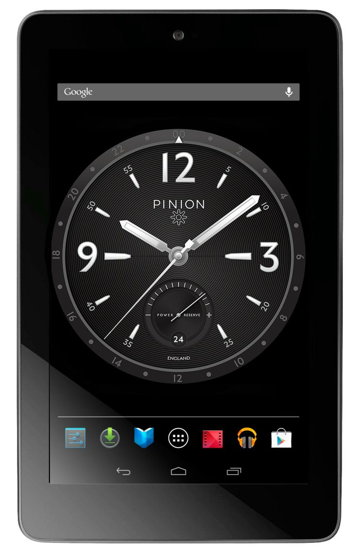 PINION Android Clock App - Available on Google Play Store: https://play.google.com/store/apps/details?id=com.pinion.piniondeskclock