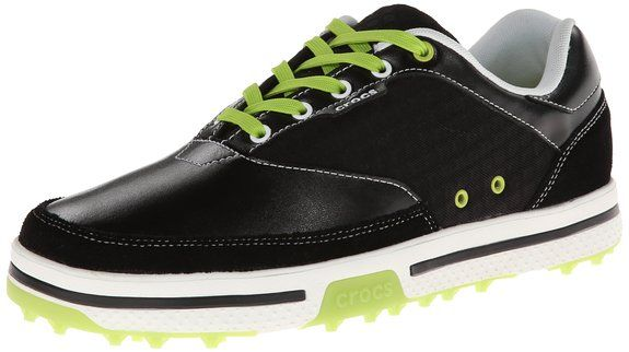 Made form leather with a synthetic sole these mens Brayden II M golf shoes by Crocs will have you looking your very best when out on the course
