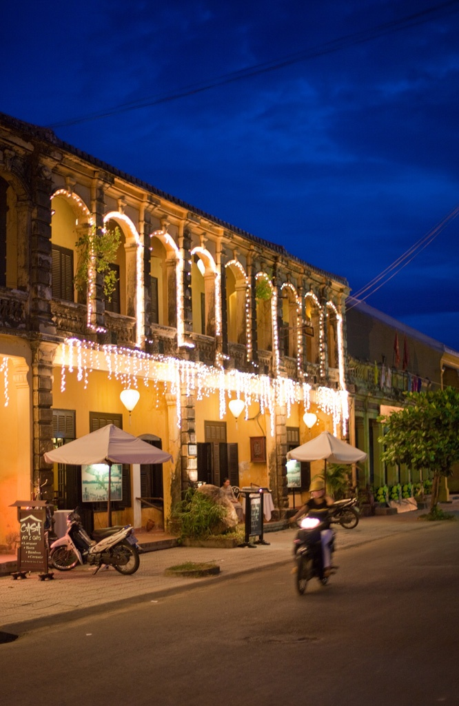 Hoi An is an historic river town near the coast in central Vietnam. It's a very popular tourist destination, and if you have an aversion to mass-tourism you could be forgiven for a certain wariness about visiting. But actually, it's delightful.
