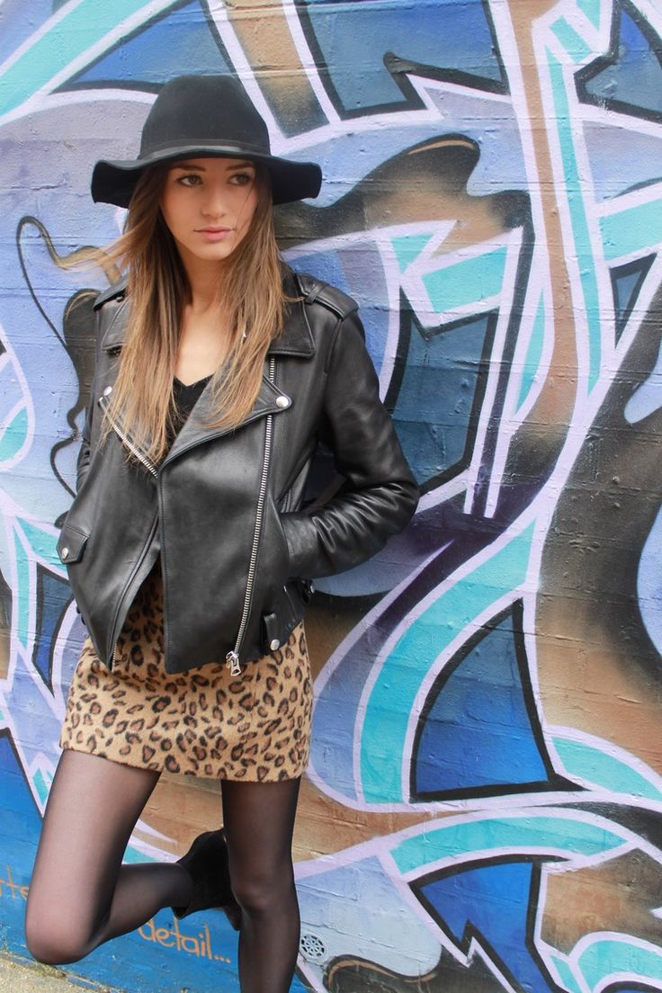 Leopard and Leather — The Trend Pear