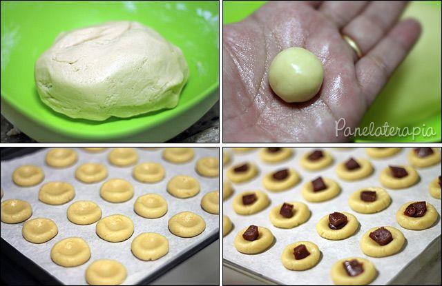 PANELATERAPIA - Blog de Culinária, Gastronomia e Receitas: Biscoitinho de Goiabada