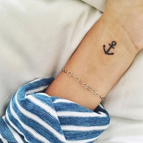 I got Anchor on the wrist! Which Subtle Tattoo Should You Get Based On Your Zodiac Sign?