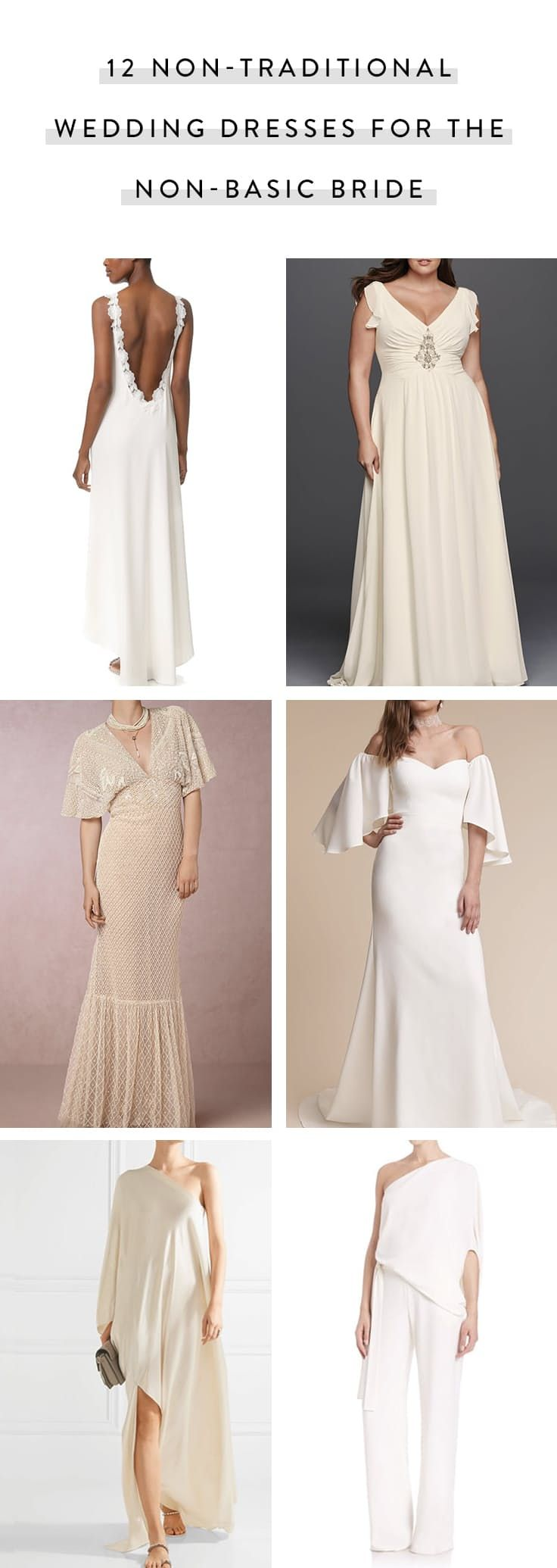 Non traditional wedding dress   NonTraditional Wedding Dresses for the NonBasic Bride