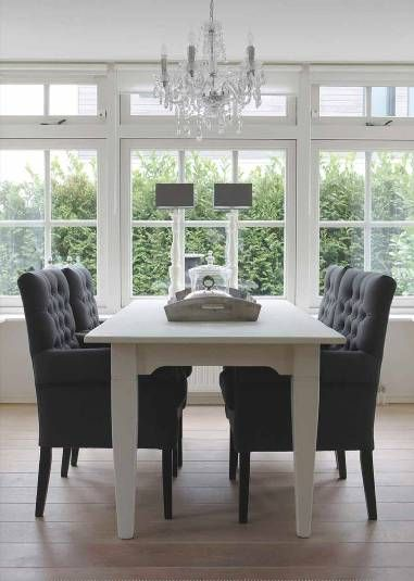 Comfy Dining Room Chairs Glamorous 106 Best Landelijke Eetkamer Images On Pinterest  Dining Room Design Decoration