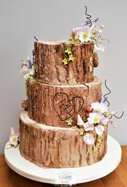 rustic themed wedding cake ideas 25 best ideas about wood cake on birch tree 19513