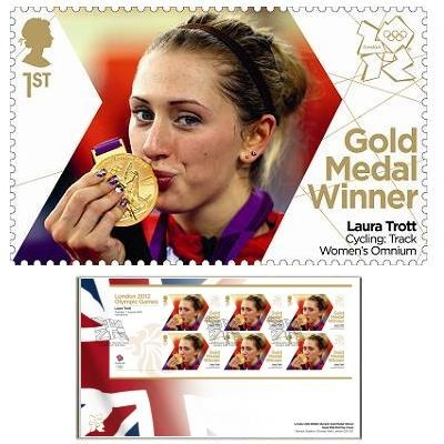 Large image of the Team GB Gold Medal Winner First Day Cover - Laura Trott