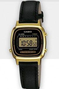 Orologi Casio prezzi e modelli: la tecnologia del vintage anni '80 che fa tendenza Casio Collection LA670WEGL-1EF 49,90 euro