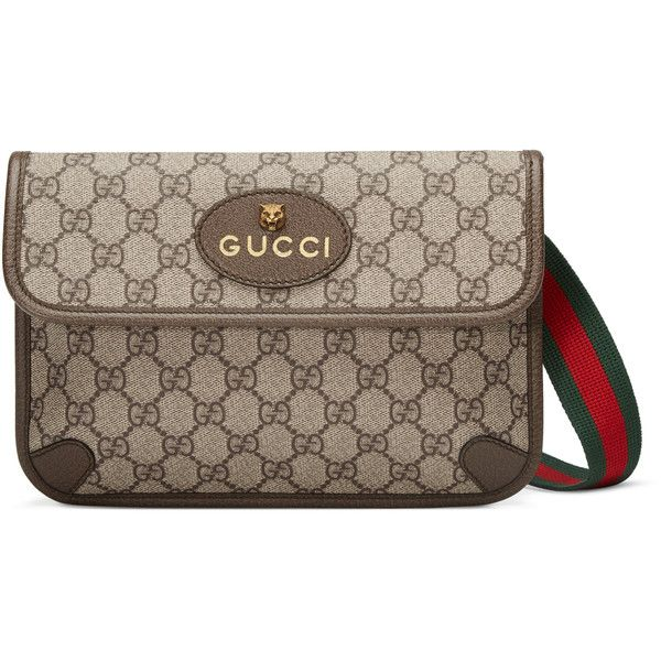 977c92aaa52 Gucci Gg Supreme Belt Bag ( 750) ❤ liked on Polyvore featuring bags ...