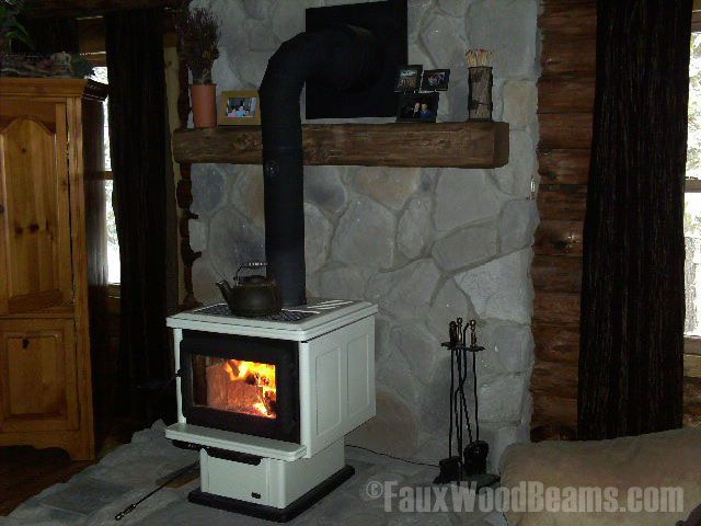 wood stove with mantle - 22 Best Woodstove Mantle Images On Pinterest