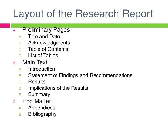 Image Result For Research Report Ppt Report Writing Thematic