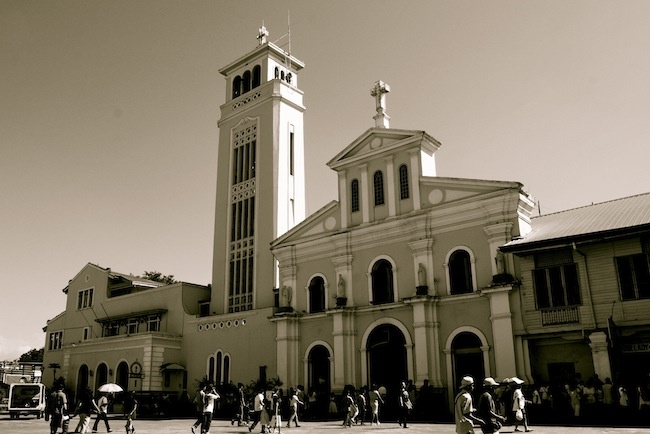 Our lady of Manaoag Church, Pangasinan, Philippines.