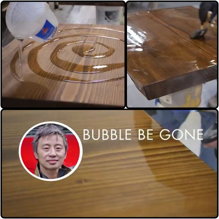 Epoxy Table Top Finish Excellent For Bar Tops. Http://m.youtube