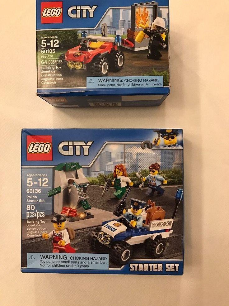 LEGO City Police Starter Set 2016 (60136) And City Fire 60105  | eBay