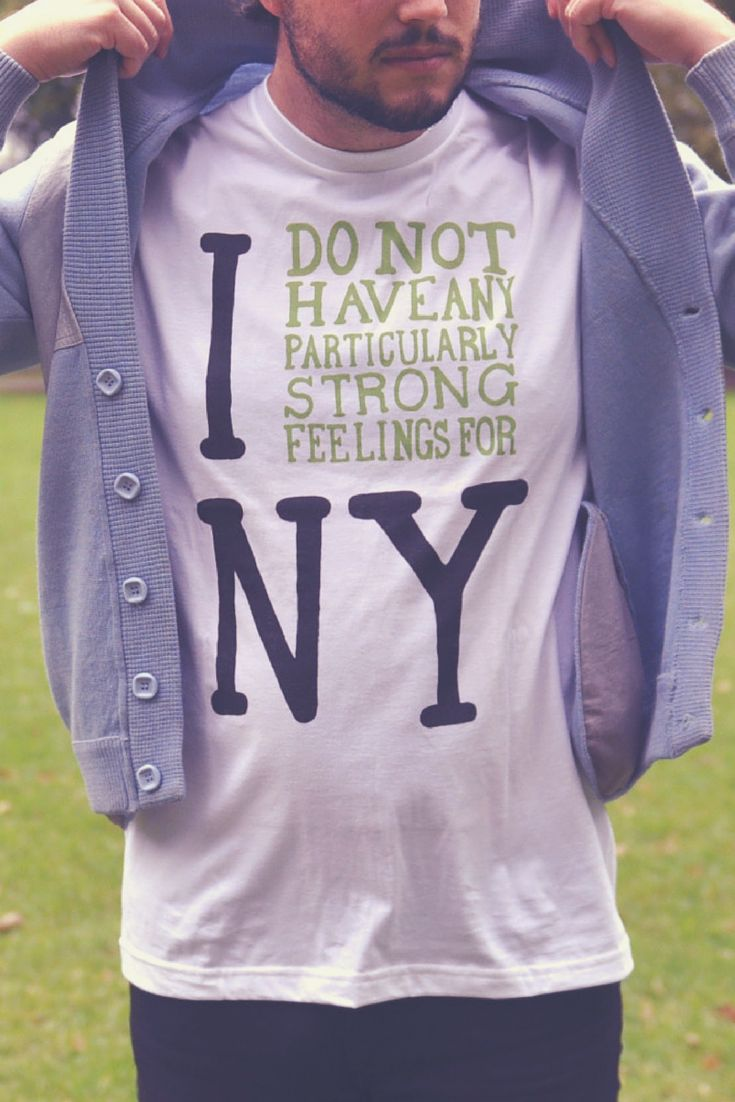 Everyone hearts NY. Show off your alternative opinion with this cheeky tee from Redbubble (don't worry, New York won't hold it against you). Shop this and tons of other funny tees and find your next wear-on-repeat shirt or an awesome gift for a friend.