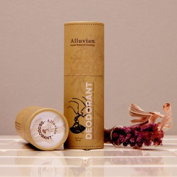 The naturally groomed man demands a fine scent, natural ingredients, and superior performance from his natural deodorant. Alluvian's deodorant is specially formulated to prevent odor without the use o