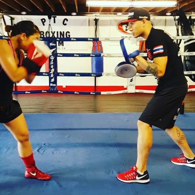 A few Boxing drills for today's training with professional female boxer Vu @pulgaboxer  #boxing #boxeo #sweetscienceboxing #gym #boxinggym #sandiego #lajolla #birdrock #fitness #femalefitness #fundamentals #coach #trainer #dontsweatthetechnique #lajollalocals #sandiegoconnection #sdlocals - posted by Pacific Training Center  https://www.instagram.com/ptcboxinggym. See more post on La Jolla at http://LaJollaLocals.com