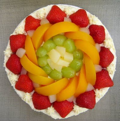 Sam Tan's Kitchen: Fresh Fruit Cream Cake