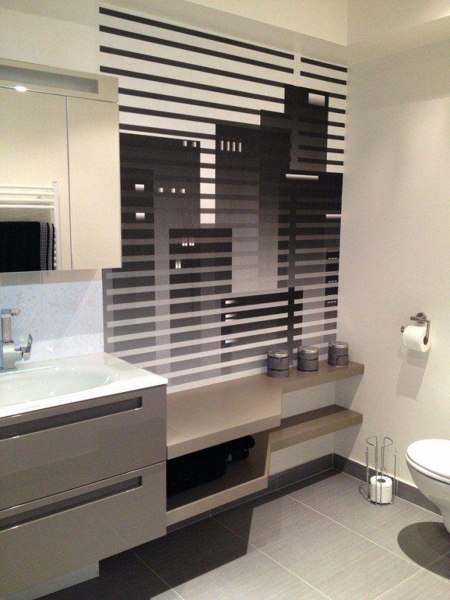 1101 best salle de bains images on pinterest bathroom for Lavabo petit espace