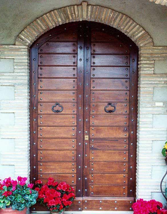 17 migliori idee su porte rustiche su pinterest porte - Portoncini blindati per esterno ...