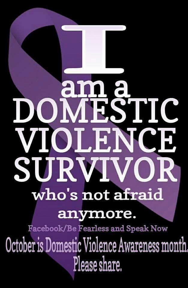 Domestic Violence Awareness! SURVIVOR
