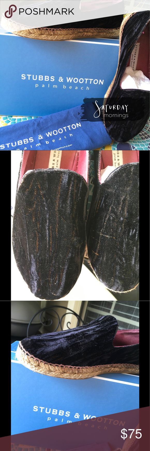 Stubbs & Wooten Beautiful designer espadrilles!!  Oh my goodness they are super comfortable!!! In my opinion they run alittle small.  GUC. J. Crew Shoes Espadrilles