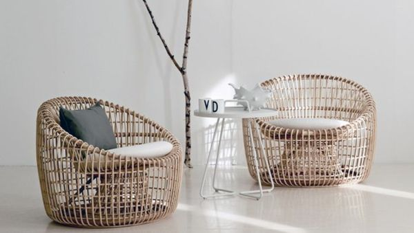 meubles en rotin très modernes
